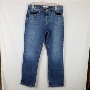 Tommy Hilfiger Women Jeans Sz 10R Straight EUC